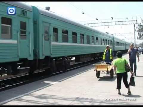 Новые поезда начали ходить через станцию Шымкент