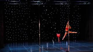 Vane Lunatica - Greek Pole Dance Championship 2017 by Rad Polewear - Showcase