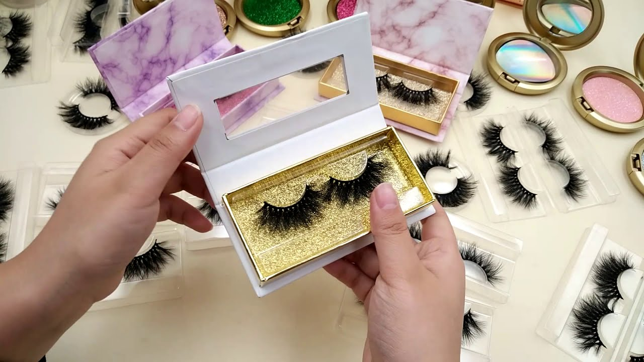 Wholesale Custom Eyelash Packaging Box to Help Lash beginner starting own  Lash business Successful !