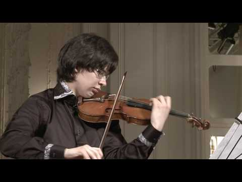 Aylen Pritchin (violin) English Hall of St. Petersburg Music House 2013-06-19 Part 2