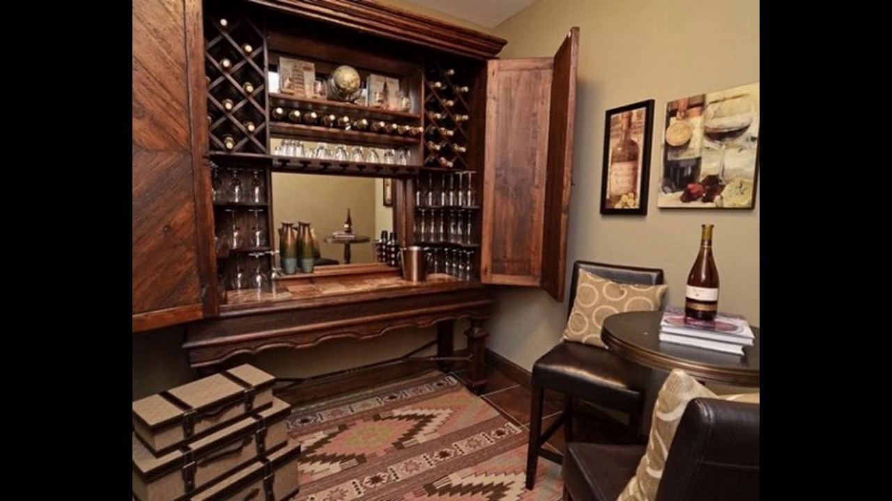 Ideas de dise o de bar para la casa youtube for Barcitos de madera para casa
