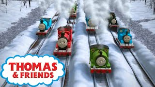 Who Stole the Christmas Decorations   Christmas Stories for Kids   Kids Cartoon   Thomas and Friends