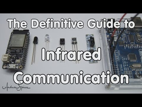#171 Arduino Guide to Infrared (IR) Communication also for ESP32 and ESP8266