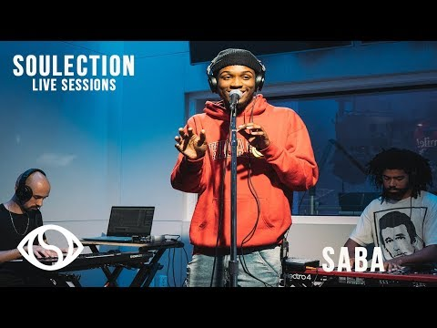 Saba Live Performance On Soulection Radio