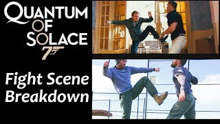 Quantum Of Solace Fight Scene | Filipino Kali Knife Fighting