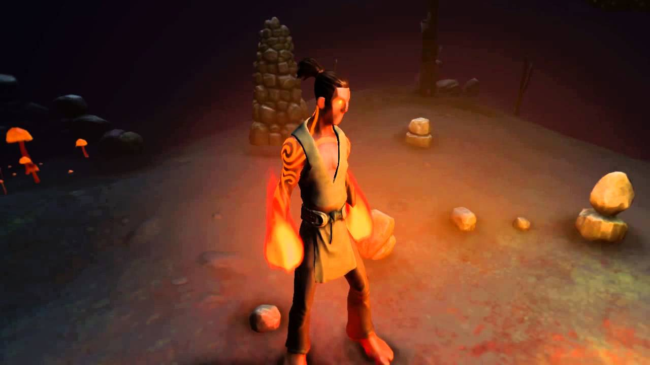 Fire Effect Shader (on Character)