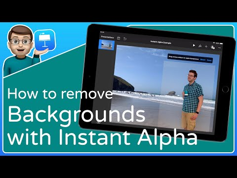 Using Instant Alpha to Remove Backgrounds from Images [Keynote for iOS Tutorial]