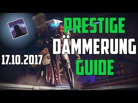 Destiny 2 : Prestige Dämmerung Guide Deutsch | Exodus Absturz