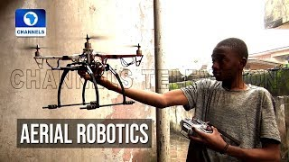 Young Drone Engineer Narrates Experience