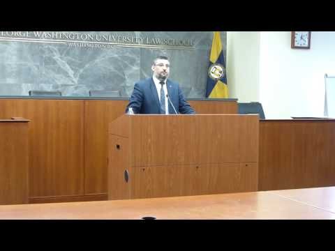 Dr. Ümit Kurt Discusses Armenian Genocide Dispossession at GW Law