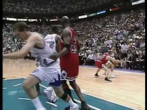 1998 NBA Finals Chicago Bulls vs Utah Jazz Game 6 Michael Jordan & Bulls Sixth Time World Champions