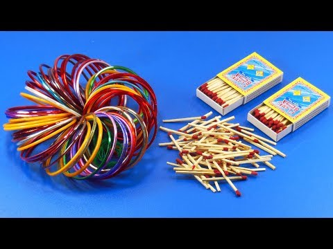 Matchstick and old bangles reuse idea | DIY arts and crafts | Amazing craft idea | DIY HOME DECO