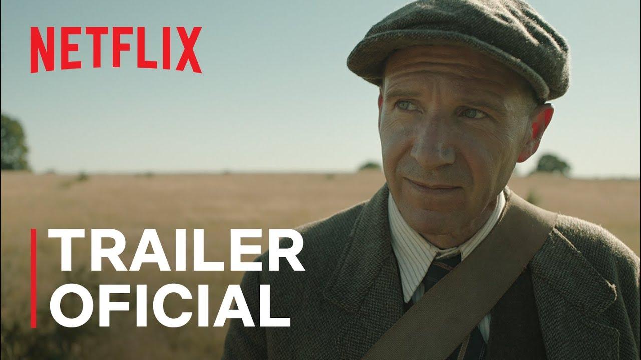 A Escavação com Carey Mulligan e Ralph Fiennes | Trailer oficial | Netflix