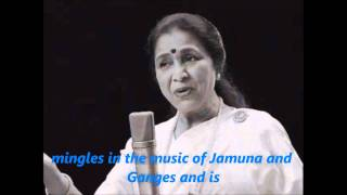 Indian national Anthem with English Lyrics
