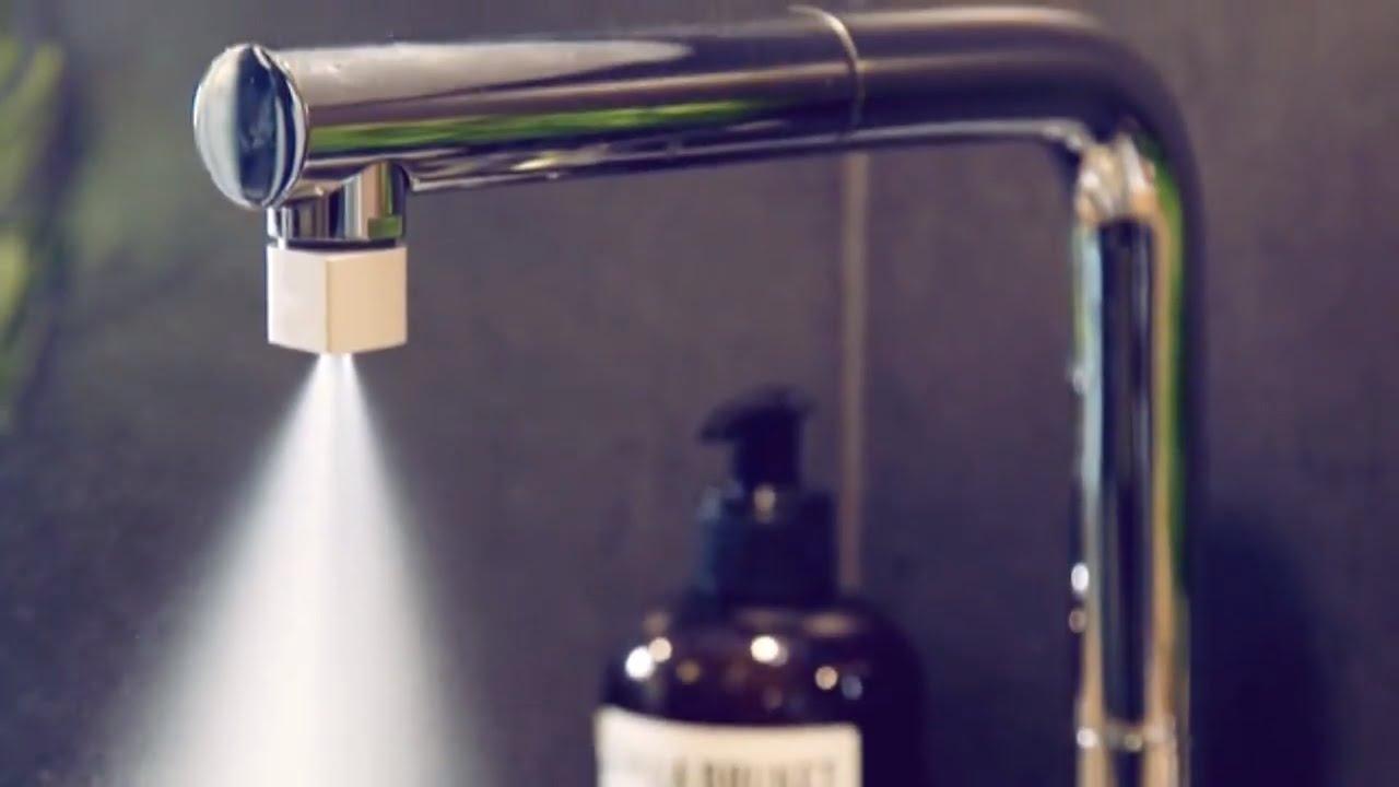 Amazing Nozzle - water saving innovation - YouTube