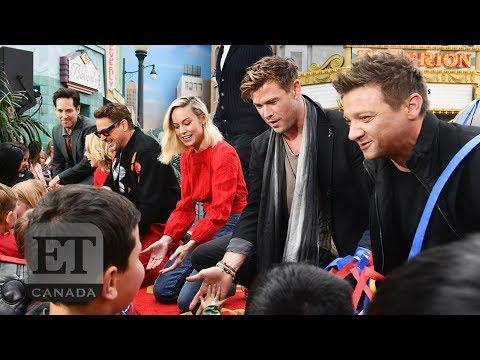 Chris Hemsworth, Robert Downey Jr & More 'Avengers' Give Back!