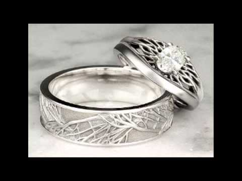 unique wedding rings for women YouTube