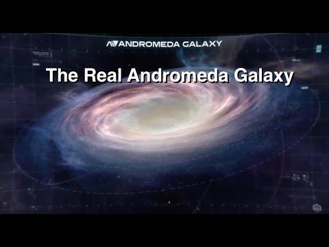 The Andromeda Galaxy vs Mass Effect: Andromeda - YouTube