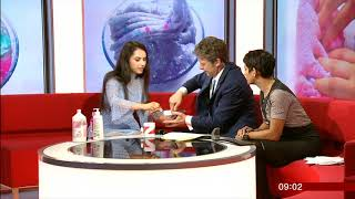 TALISA TOSSELL How NOT to make SLIME BBC Breakfast