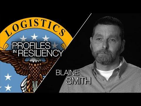 DLA Profiles in Resiliency,  Blaine Smith, DLA Distribution Puget Sound (YouTube Cap)