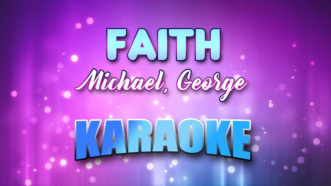 Michael, George - Faith (Karaoke version with Lyrics)
