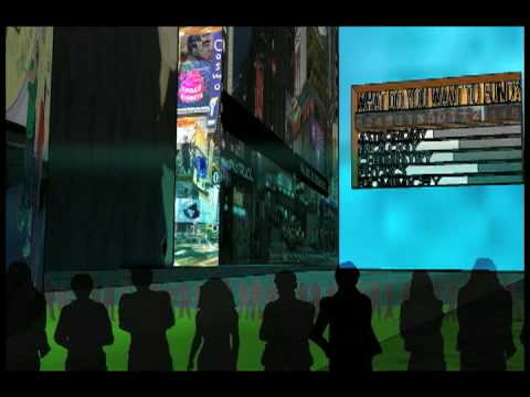 three-dimensional interactive billboards