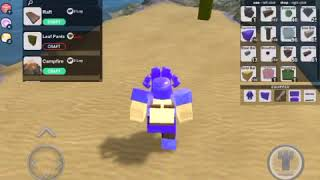 How to drop items really fast in booga booga roblox