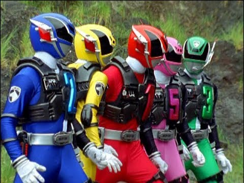 "Power Rangers S.P.D. - Power Rangers Battle | Episode 31 ""History"""