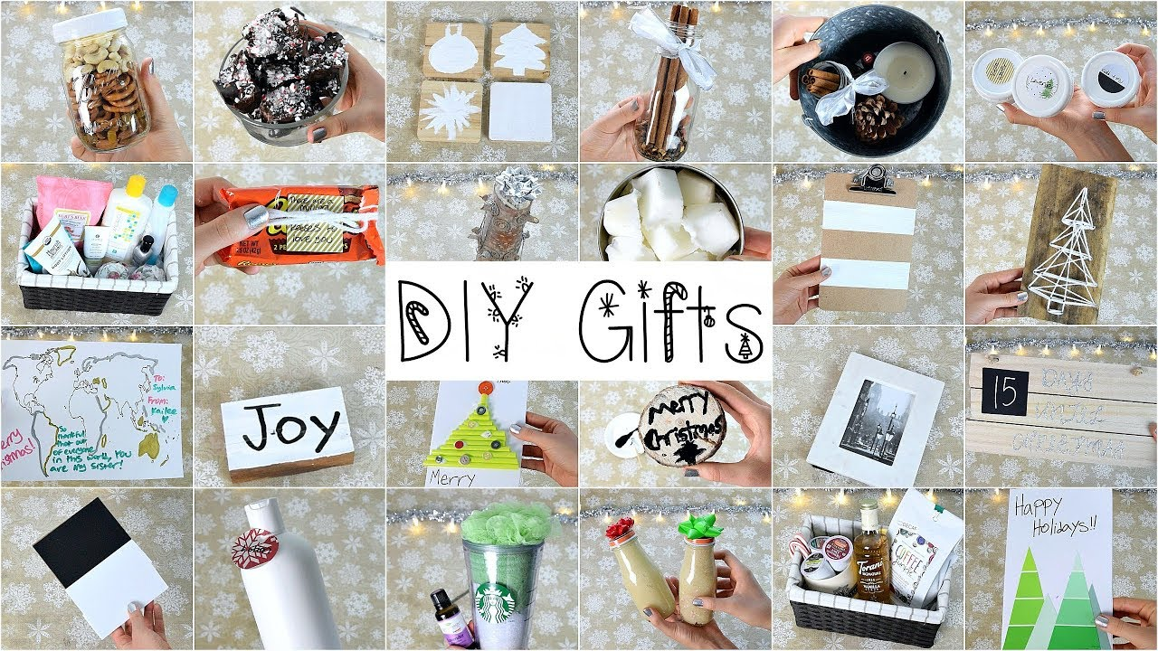 25 Diy Christmas Gifts That People Will Love Youtube