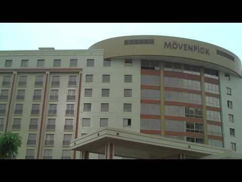 The new Ambassador Hotel, Accra.