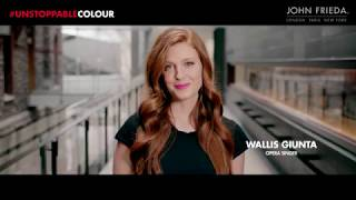 With Wallis Giunta, for John Frieda Canada