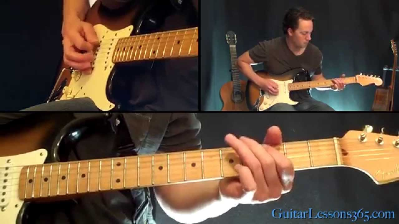 The Unforgiven Guitar Solo Lesson Metallica Famous Solos Youtube