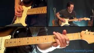 The Unforgiven Guitar Solo Lesson - Metallica - Famous Solos