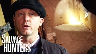 Hunting Down A 19th Century Library Chair | Salvage Hunters