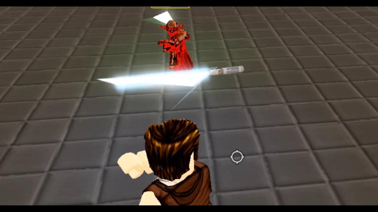 Roblox Yoda Attacks The Throne Room Lightsaber Battlegrounds