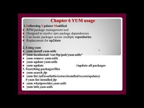 Linux Package Management - part 2/3