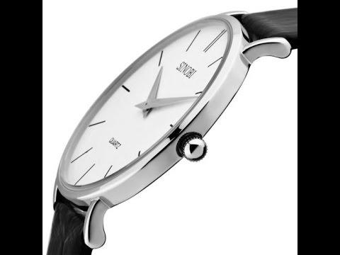 видео: Часы sinobi тонкие!Цена качество из Китая (обзор-распоковка)