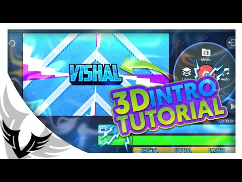 How To Make 3D Intro On Android In Kinemaster