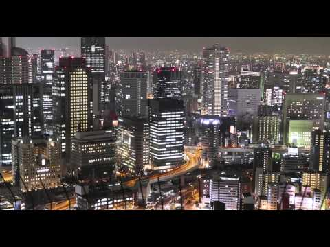 時空の栞 -4K Osaka NIGHT VIEW- Timelapse 大阪夜景