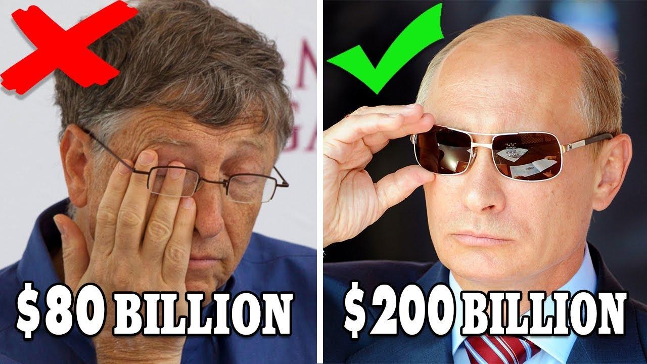 10 อันดับ บุคคลร่ำรวยที่ทำให้ บิล เกตส์ กลายเป็นคนจนไปเลย