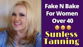 Fake Tanning Routine For Mature Women With Tan Towel Products Over 40 Beauty Blogger