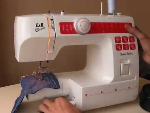 E/&r KPN400 machine à coudre instructions photocopie
