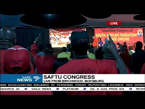 New labour federation launch: 21 April 2017