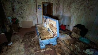 FOUND REMAINS INSIDE ABANDONED FUNERAL HOME - CONDEMNED AFTER BODIES WERE LEFT TO ROT