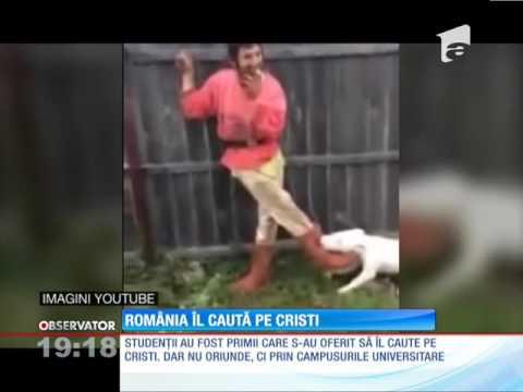 Toată România îl strigă pe Cristi. De vină este un filmuleţ devenit viral