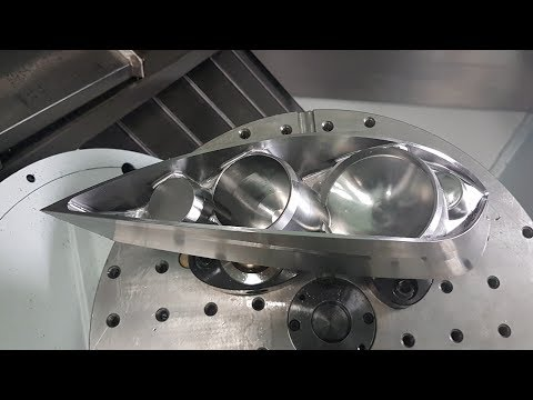 PowerMill 5-Axis Barrel Finishing on a Huron K3X 8 CNC
