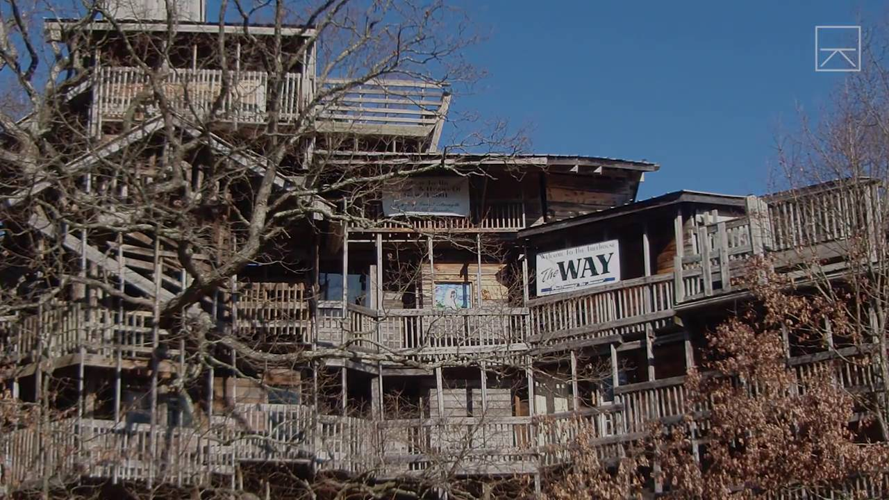 tour the worlds largest treehouse