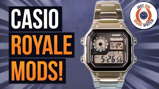 Casio Royale Mods - Less Is More!