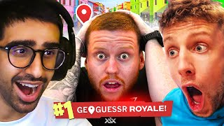 🔴 GEOGUESSR BATTLE ROYALE  w/ Sidemen & Friends