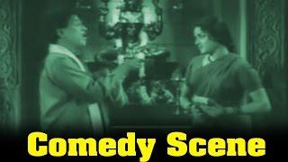 Chithi Movie : M.R.Radha and Padmini Comedy Scene